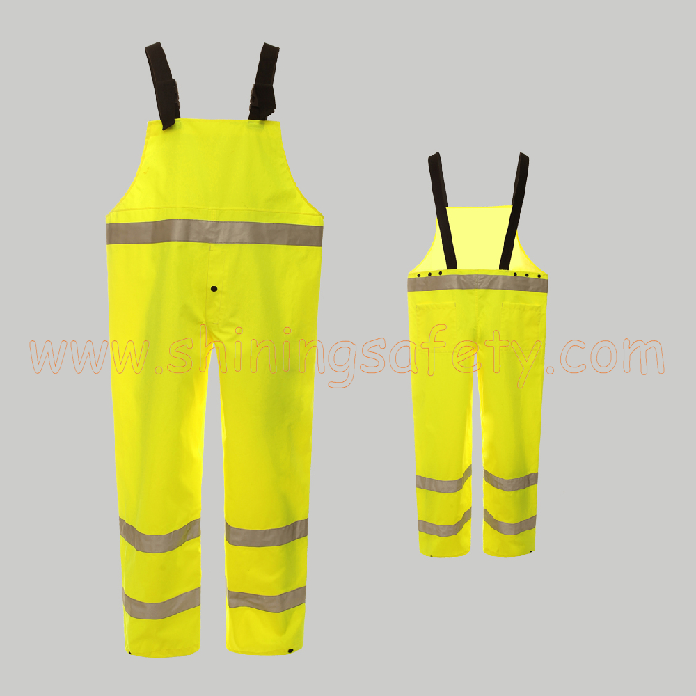 SP002 ANSI Waterproof Class E Bib Pants