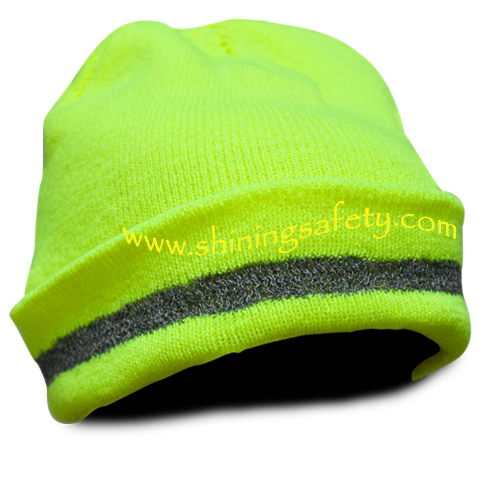 High Visibility Knit beanie